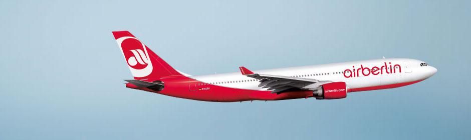 Airberlin Flugverfolgung